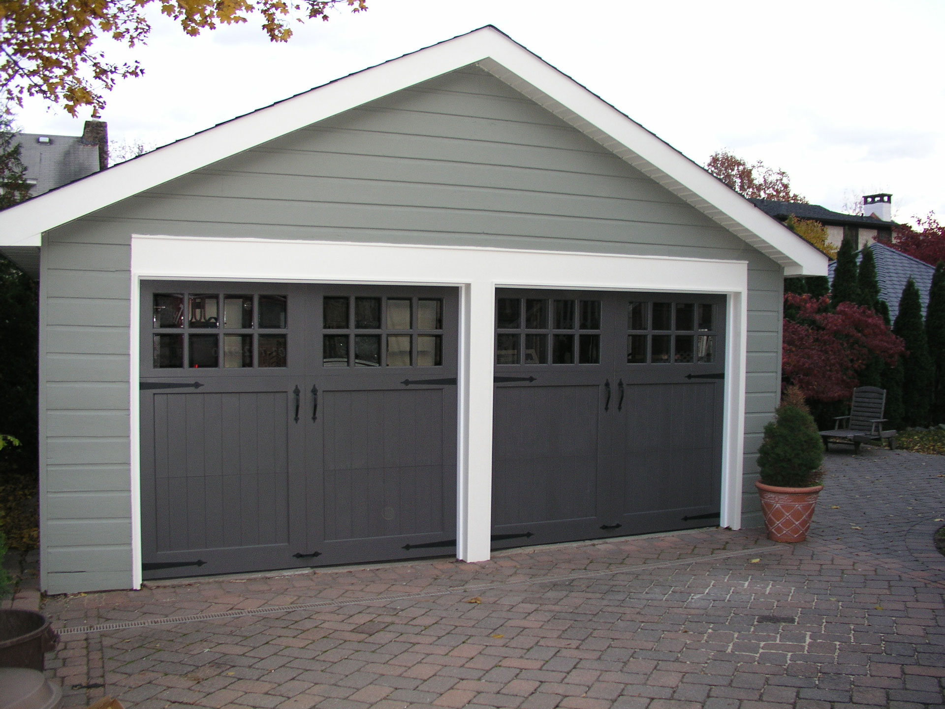 painted garage doors ideas - Colored Garage Doors Examples Ideas &
